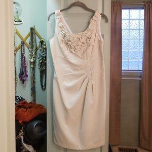 Perfect pinstriped Derby dress!! Seersucker!!
